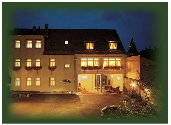 Garni Hotel Harz/Pension alter Kutschenbauer bei Nacht